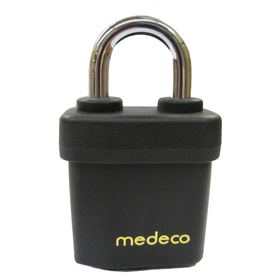 Medeco 4&#034; Padlock Indoor/Outdoor Shackle