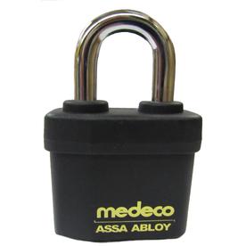 Medeco Brass Keyed Padlock
