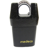 Medeco Brass Regular Shackle Keyed Padlock
