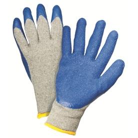 Blue Hawk 2-Pack Large Men's Rubber Work Gloves
