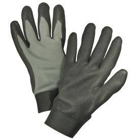 Blue Hawk Large MenS Polyester Nitrile Dipped Work Gloves