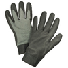 Blue Hawk Large Men&#039;s Rubber Work Gloves