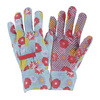 Style Selections Large Women's Multicolor Cotton Garden Gloves
