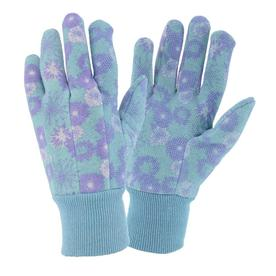 Style Selections Large Women's Purple Cotton Garden Gloves