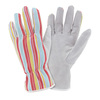 Style Selections Large Women's Multicolor Leather Garden Gloves