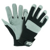 Blue Hawk Large Men's Leather Work Gloves