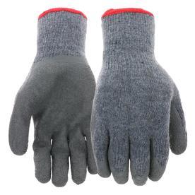 Blue Hawk 3-Pack Large Men's Rubber Work Gloves