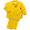 West Chester 3-Piece Large Yellow Rain Suit