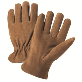West Chester Large Male Tan Leather Insulated Winter Gloves