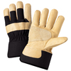Blue Hawk Large Unisex Brown Multiple Material Insulated Winter Gloves