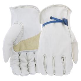 Blue Hawk Small Unisex Leather Palm Work Gloves