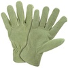 Style Selections Medium Ladies' Leather Palm Work Gloves