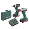 Metabo Ultra-M 18-Volt Lithium Ion (Li-ion) Cordless Combo Kit with Hard Case