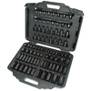 Ingersoll Rand 86-Piece 1/2-in and 3/8-in Drive Standard 6-Point Impact Socket Set with Case