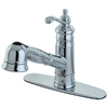 Kingston Brass Templeton Chrome 1-Handle Pull-Out Kitchen Faucet
