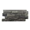 Exteria Building Products Creek Ledgestone Premium 10-Pack 19.25-in x 45.75-in Appalachian Ash Faux Stone Veneer