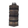 Exteria Building Products Stacked Premium 21-in x 6.5-in Lewiston Crest Molded Corner Stone Veneer Trim