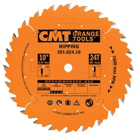 CMT 10-in 24-Tooth Continuous Circular Saw Blade