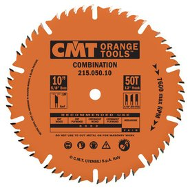 CMT 10-in 50-Tooth Continuous Circular Saw Blade