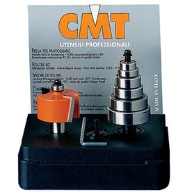 CMT Rabbeting Set with Case