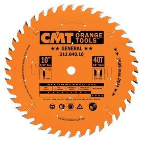 CMT 10-in 40-Tooth Continuous Carbide Circular Saw Blade