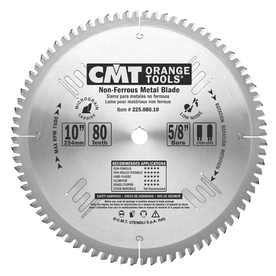CMT 10-in 80-Tooth Continuous Circular Saw Blade