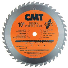 CMT 8-1/4-in 40-Tooth Continuous Carbide Circular Saw Blade