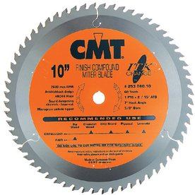 CMT 8-1/2-in 60-Tooth Continuous Circular Saw Blade