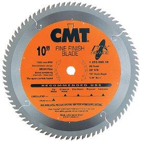 CMT 10-in 80-Tooth Continuous Carbide Circular Saw Blade