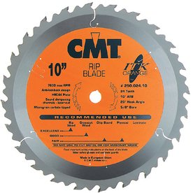 CMT 8-1/4-in 24-Tooth Continuous Circular Saw Blade