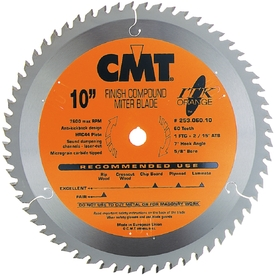 CMT 12-in 72-Tooth Continuous Carbide Circular Saw Blade