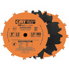 CMT 8-in 12-Tooth Dado Circular Saw Blade Set