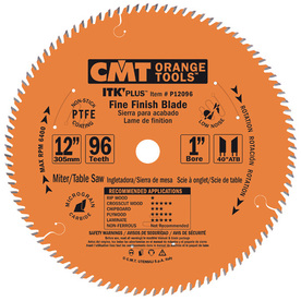 CMT 12-in 96-Tooth Continuous Circular Saw Blade