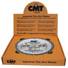 CMT 10-Pack 7-1/4-in 24-Tooth Continuous Carbide Circular Saw Blades