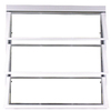 West Palm 800 Series Horizontal Aluminum Single Pane Double Strength Replacement Egress Awning Window (Rough Opening: 38.75-in x 27-in; Actual: 37-in x 26-in)
