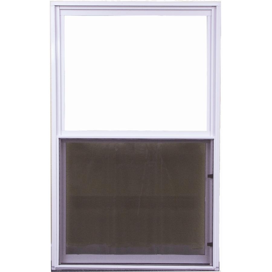 Shop west palm 500 series aluminum single pane double for Aluminum replacement windows