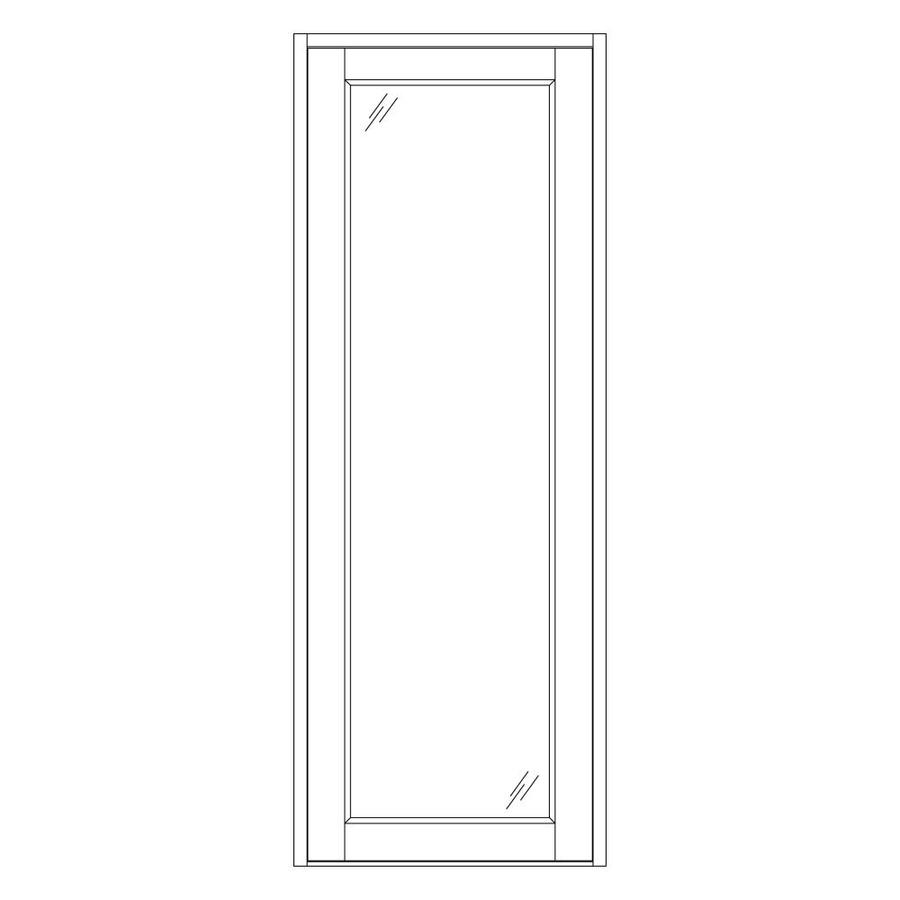 Shop West Palm 600 Series 13 In W X 96 3 4 In H 3 4 Clear French Door Sidelight At