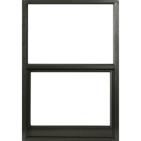 West Palm 580 Series Aluminum Single Pane Single Strength Replacement Single Hung Window (Rough Opening: 20.125-in x 27-in; Actual: 19.125-in x 26-in)