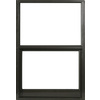 West Palm 580 Series Aluminum Single Pane Single Strength Replacement Single Hung Window (Rough Opening: 38-in x 27-in; Actual: 37-in x 26-in)