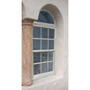 West Palm 580 Series Aluminum Single Pane Double Strength Replacement Egress Single Hung Window (Rough Opening: 38-in x 64-in; Actual: 37-in x 63-in)
