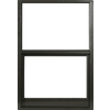 West Palm 580 Series Aluminum Single Pane Annealed Replacement Egress Single Hung Window (Rough Opening: 54.125-in x 39.375-in; Actual: 53.125-in x 38.375-in)