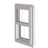 West Palm 10000 Series Vinyl Double Pane Double Strength Replacement Single Hung Window (Rough Opening: 26.5-in x 26-in; Actual: 25.5-in x 25-in)
