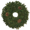 28-in Fresh Fraser Fir Christmas Wreath