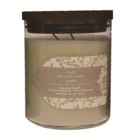 allen + roth 16 oz Vanilla Ivory Jar Candle
