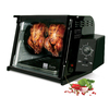 Ronco 1,250-Watt Black Countertop Rotisserie Oven