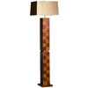 Nova Lighting 59-in 3-Way Root Beer Floor Lamp with Bronze Shade