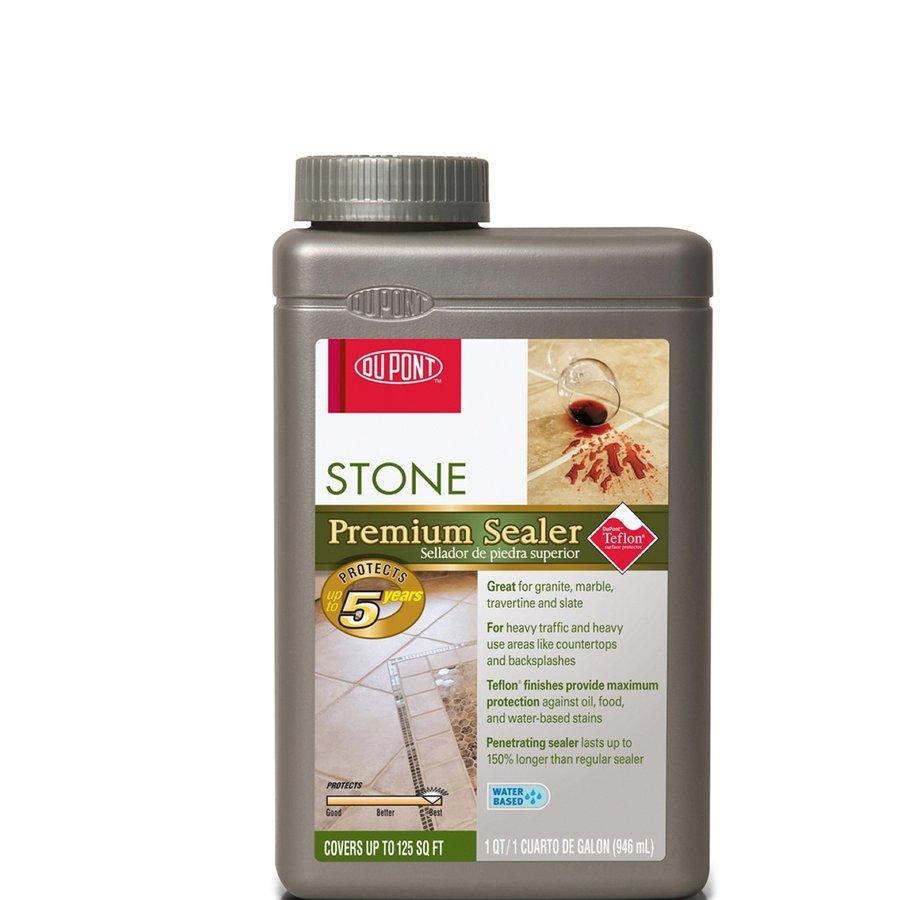 Shop dupont advanced stone tile sealer at for Dupont exterior protection reviews