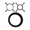 Goof Proof Black Plastic Ring