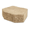 Fulton 12-in L x 4-in H Tan Basic Retaining Wall Block (Actuals 12-in L x 4-in H)