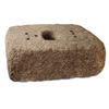 allen + roth Luxora 16-in L x 6-in H Antiqued Tan Charcoal Blend Country Manor Retaining Wall Block (Actuals 16-in L x 6-in H)